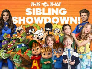 Nickelodeon: Sibling Showdown Quiz game