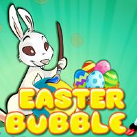 Easter Bubble game
