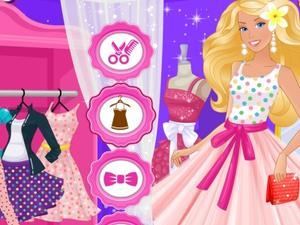 play Barbie Polka Dots Style