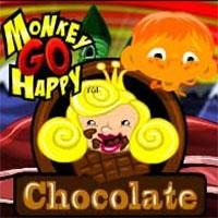 Play Monkey Go Happy Chocolate Game