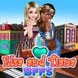 play Elsa And Tiana Bffs