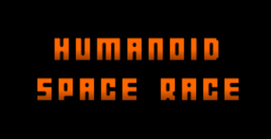 Humanoid Space Race game