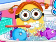 play Minion Girl Spa Day