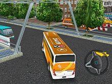 play Bus Parking 3D World 2