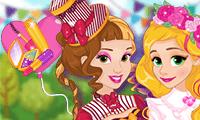 Princesses Spring Funfair game