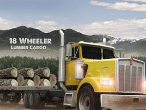 18 Wheeler Lumber Cargo game