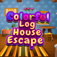 play Colorful Log House Escape