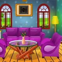 play Colorful Log House Escape Knfgame