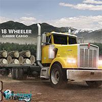 play 18 Wheeler Lumber Cargo
