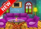 Colorful Log House game