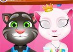 play Angela Princess Cat Care