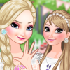 play Frozen Sisters Birthday Party
