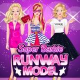 Super Barbie Runway Model game