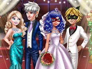 play Ladybug Wedding Royal Guests