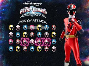 Power Rangers Ninja Steel: Match Attack Puzzle game