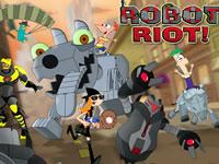 play Phineas And Ferb Robot Riot