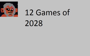 12 Games Of 2028