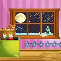 Winter House Escape Escapefan