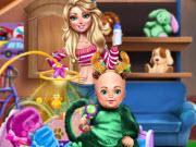 Babysitter Fun Day game