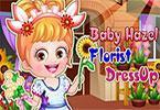 play Baby Hazel Florist Dressup