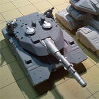 Tanks: Sci-Fi Battle game