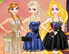 Princesses Paris Holiday game