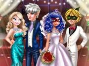 play Ladybug Wedding Royal Guests