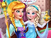 Prank The Nanny: Baby Ice Queen game
