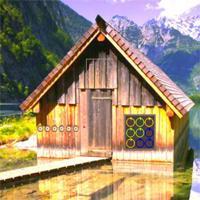 Glacial Mountain Lake Escape game