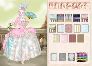 Rococo Costume Creator game