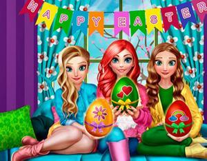 Princesses Easter Fun game