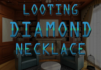 play Looting Diamond Necklace Escape