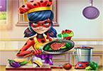 play Miraculous Ladybug Real Cooking