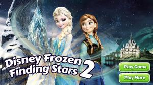 Disney Frozen Finding Stars 2 game