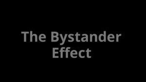 The Bystander Effect game