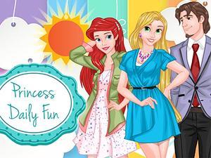 Princess Daily Fun game