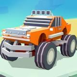 3D Monster Truck Skyroads game