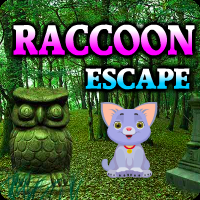 Raccoon Escape game
