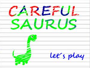 Carefulsaurus game