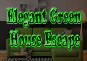 Elegant Green House Escape game