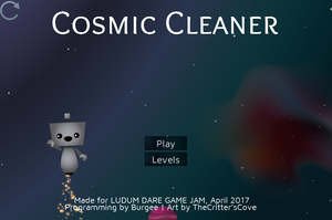 play Cosmic Cleaner