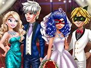 Superhero Wedding Royal Guests game