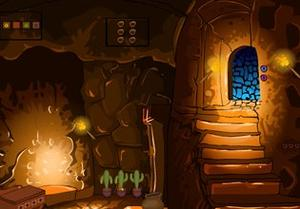 play Haunted Clay House Escape