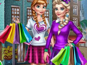 Princesses Mall Shopping game