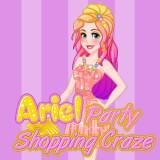play Ariel Party Shopping Craze