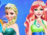 Princess Winter Costume game