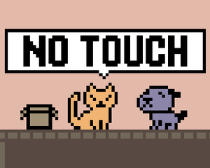 No Touch game