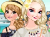 play Frozen Sisters Island Resort