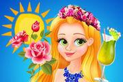 Rapunzel'S Secret Garden Girl game