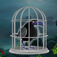 Dark Fantasy Crow Escape game